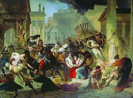 The Vandals sacking Rome